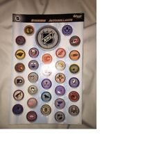NHL TEAM LOGO STICKERS