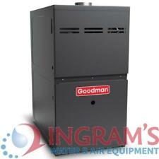 """80k BTU 80% AFUE Multi Speed Goodman Gas Furnace - Upflow/Horizontal - 17.5"""" Cab"""
