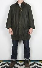 "BARBOUR Confine Cera Giacca circonferenza petto 40"" Medium Verde (K2U)"