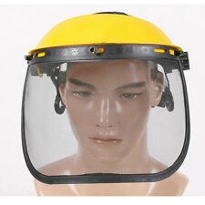 Mesh Face Shield Protect Visor Headband For Lawnmowers Brush Cutter Strimmer