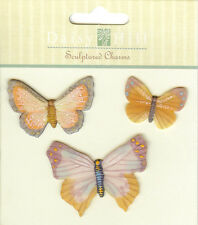 Butterfly Charms, Embellishments - NEW, 556584