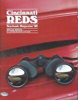 1982 Cincinnati Reds Baseball Yearbook magazine, Tom Seaver, Johnny Bench ~ VG