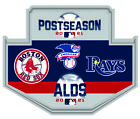 2021 ALDS  DIVISIONAL DUELING PIN BOSTON RED SOX VS. TAMPA BAY RAYS WORLD SERIES