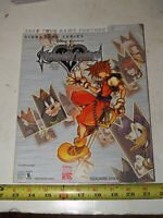 Kingdom Hearts: Chain of Memories (GBA) BradyGames Official Strategy Guide