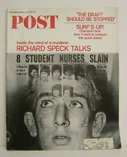 Saturday Evening Post Jul 01 1967 Draft should be stopped Speck Great Ad's