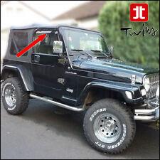 Deflettori Aria Antiturbo Oscurati Jeep Wrangler TJ 1997-2006