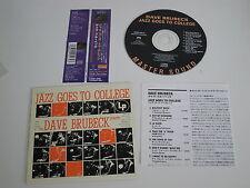 The Dave Brubeck Quartet/jazz Goes to College (SME SRCS 9513) Giappone CD + OBI CARD