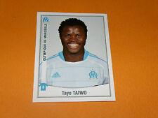 248 TAYE TAIWO OLYMPIQUE MARSEILLE OM PANINI FOOT 2011 FOOTBALL 2010-2011