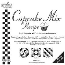 Cupcake Mix Recipe #2 foundation paper by Miss Rosie's Quilt Co for Moda