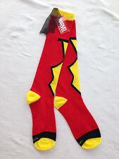 Marvel Super Hero Knee Socks - Spider Woman with Cape - Ladies 4-10 - NWT