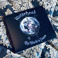 MOTORHEAD THE WORLD IS YOURS digipack cd LEMMY Heavy Metal