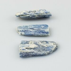 Blue Kyanite Blade Natural Raw Rough Crystal Mineral Specimen Reiki 3-7 cm x 3