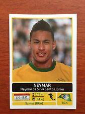 2011 NEYMAR JR Panini Copa America Soccer Sticker #133 BRAZIL BRASIL PSG PARIS