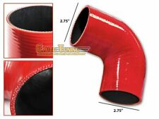 """2.75"""" Silicone Hose/Intercooler Pipe Elbow Coupler RED For Jeep/Land Rover"""