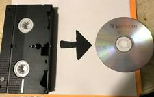 Video Tape Transfer Service to DVD VHS TO DVD VCR Tape Conversion Fast Turn