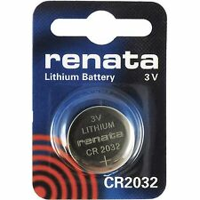 New Renata CR2032 3V Watch Battery Cell Quantity Good Price
