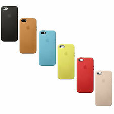 Orginal Apple Leather Leder Case Hülle Cover iPhone SE 5 5s verschiedene Farben