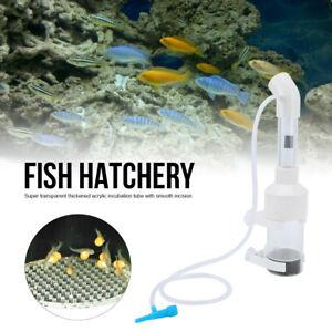 Acrylic 25cm x 50mm Short Aquarium Cichlids Tumbler Incubator Fish Hatchery Eggs