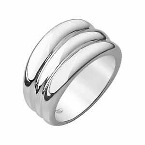 LINKS OF LONDON Ladies Hope Sterling Silver Triple Stack Ring L NEW RRP120