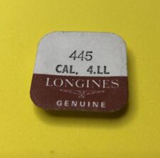 Nos Longines Setting Lever Spring Cal.4Ll 445 Watch Parts Repair Restore Set