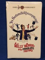 Willy Wonka and the Chocolate Factory VHS GENE WILDER
