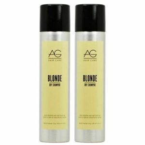 2 PK! AG HAIR CARE BLONDE DRY SHAMPOO SPRAY 4.2 OZ STYLE REFRESHER ROOT TOUCH UP