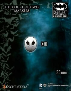 The Court of Owls Markers Knight Models Batman Miniatures Game DC Comics New