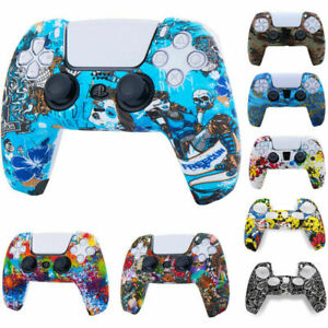 PS5 PlayStation Skin 5 Dual Sense Controller Silicone Rubber Case Cover Skin
