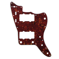 1PCS 4Ply Red Tortoise Shell FD Jazzmaster Style Guitar Pickguard Scratch Plate