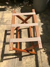 Folding Wooden Luggage / Suitcase Stand / Rack, Hotel / B&B