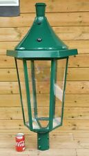 Metcraft Lynton Green Victorian Lamp Post Top Lantern Traditional Street Light