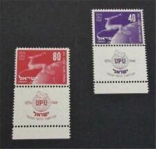 nystamps Israel Stamp # 32 Mint OG NH $55