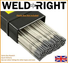 Weldright ER316L Stainless Steel Arc Welding Electrodes Rods 1.6mm x 30 Rods