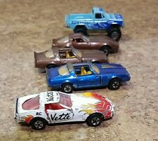 Vintage Road Champs 1/64 Die Cast Pickup Truck & Cars Lot of 5