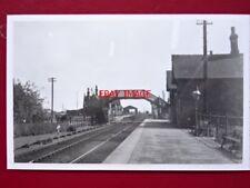 PHOTO  HABROUGH RAILWAY STATION