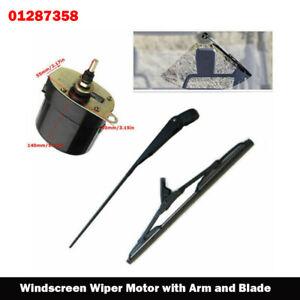 12V Universal Windscreen Wiper Motor with Arm Blade for Fishing-Boat Caravan