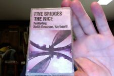 The Nice- Five Bridges- 1970- Keith Emerson- new/sealed cassette