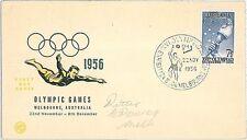 Australia Cover Sports Postal Stamps