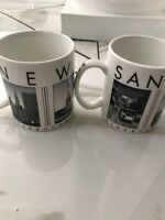 2003 STARBUCKS New York City+SF Scenes Series Coffee Mug LOT