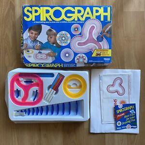 Vintage SPIROGRAPH Kenner Design 1986 Toy #14210 - NOS