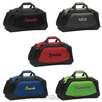 Personalized Gym Bag School Sports Duffel Athletic Workout Travel Carry on Bag