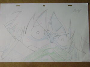 ONE PIECE LUFFY ANIME PRODUCTION GENGA DOUGA SKETCH 12