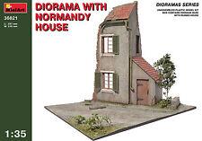 MiniArt 1/35 36021 Diorama w/Normandy House (WWII Military Diorama)
