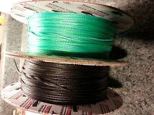 1.8mm per-10 ft Black Endura 12, New England Ropes dyneema SK75 #1524-02