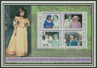 NAURU: QUEEN MOTHER'S 100th BIRTHDAY 2000 - MNH MINIATURE SHEET (G11-PB)