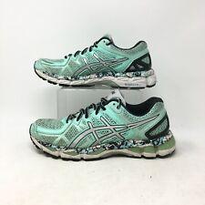 Asics Gel Kayano Z1 Running Sneakers Shoe Lace Up Mesh Low Top Light Blue Mens 9