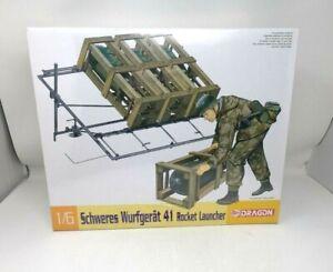 Dragon Schweres Wurfgerat 41 Rocket Launcher 1/6 Unassembled Scale Model Kit NIP