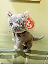 """Ty Beanie Baby """"Arlene"""" the cat - tag protector - New - Free Shipping!"""