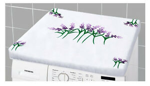 Waschmaschine Abdeckung Waschmaschinenüberzug Waschmaschinenbezug Trockner Laven