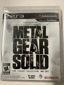 Metal Gear Solid: The Legacy Collection 1987-2012 (PS3, 2013) BRAND NEW!